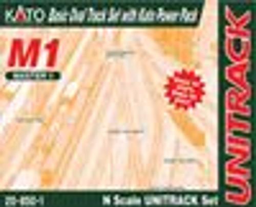 Kato 208501 N M1 Basic Oval Track Set w/Power Pack