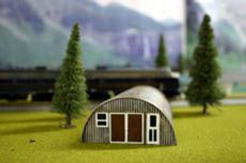 Imex 6101 HO Scale Quonset Hut rusty