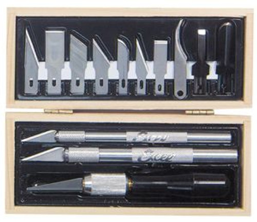Excel Hobby 44290 Professional Tool Set Wooden Box