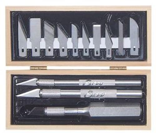 Excel Hobby 44283 Craftsman Tool Set Wooden Box