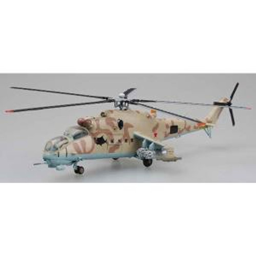 Easy Model 37035 Russian MI-24 Hind Helicopter