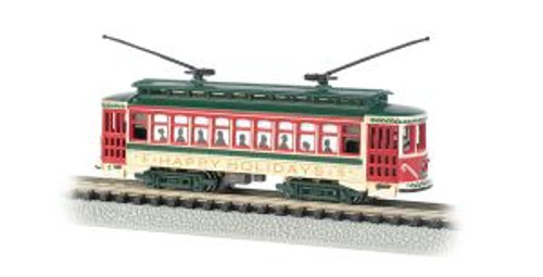 Bachmann 61085 N Brill Trolley Christmas