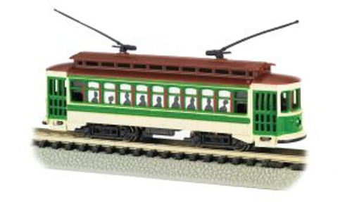 Bachmann 61093 N Brill Trolley Green