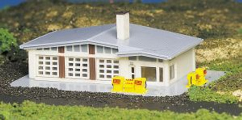 Bachmann 45904 N Scale B/U Shell Gas Station