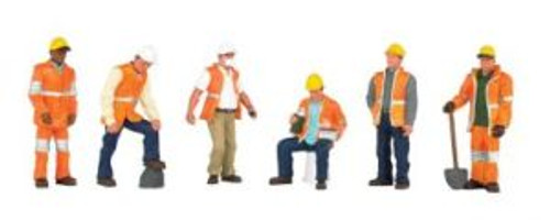Bachmann 33156 O Maintenance Workers 6 piece