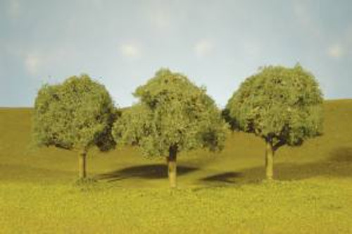 Bachmann 32113 Oak Trees 2-2.5 in 4 piece
