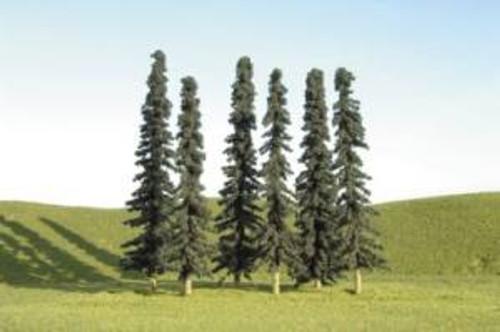 Bachmann 32155 Conifer Trees 3-4 in 36 piece