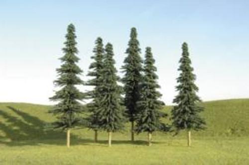 Bachmann 32157 Spruce Trees 3-4 36 piece