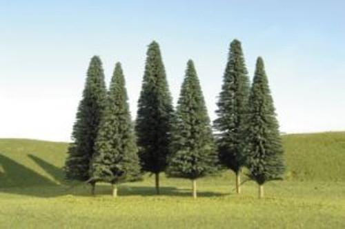 Bachmann 32201 Pine Trees 8-10 3 piece