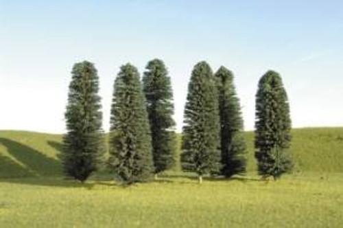 Bachmann 32159 Cedar Trees 3-4 36 piece