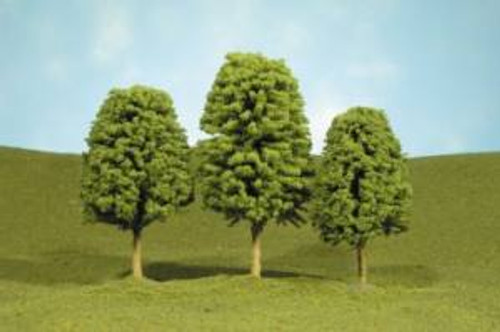 Bachmann 32106 Deciduous Trees 2-3 4 piece