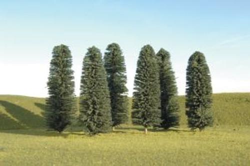 Bachmann 32005 Cedar Trees 5-6 6 piece