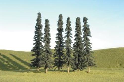 Bachmann 32003 Conifer Trees 5-6 6 piece