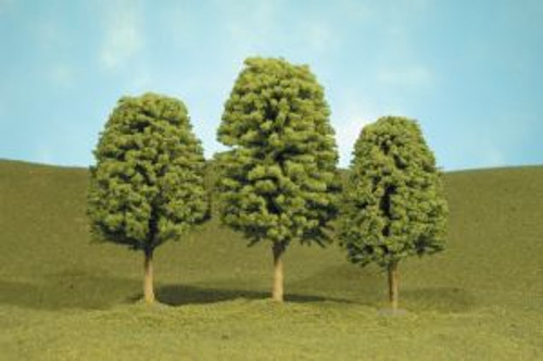 Bachmann 32006 Deciduous Trees 3-4 3 piece