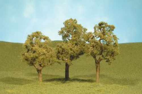 Bachmann 32008 Elm Trees 3-4 3 piece