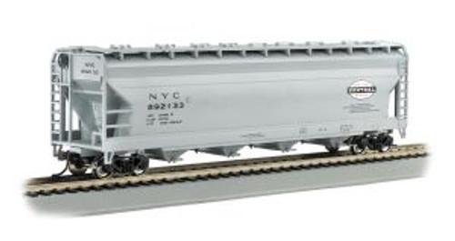 Bachmann 17523 HO 56' ACF Cvd.Hopper NYC gray