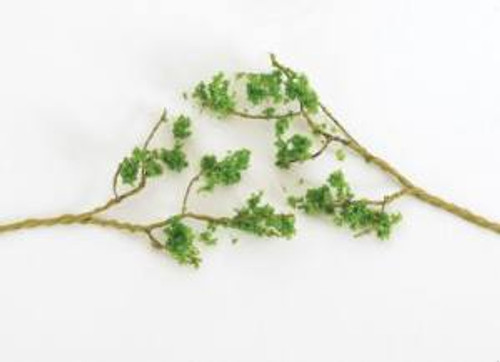 Bachmann 32645 60 Wire Foliage Branches Lt.Green