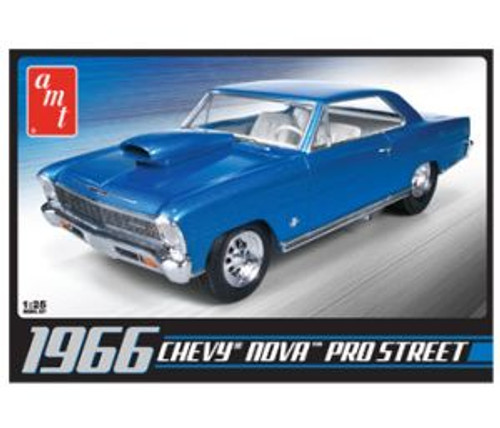 AMT 636 '66 Chevy Nova Pro Street 1/25