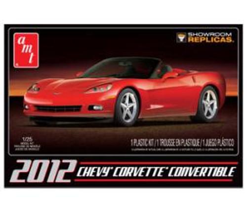 AMT 733 2012 Corvette Convertible 1/25