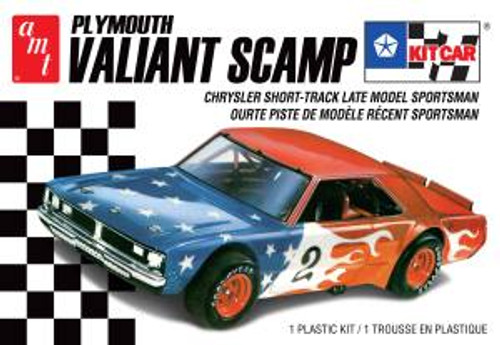 AMT 1171 Plymouth Valiant Scamp Kit Car 2T Skill 2 1/25
