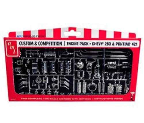 AMT 011 GM Motors Parts Pack 1/25