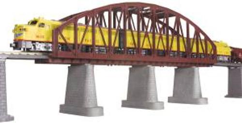 MTH 40-1103 O Steel Arch Bridge/rust (was #401031)