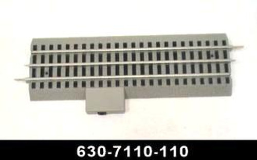 """Lionel Trains LionChief Wall-Pack Terminal Track 10"""" Section with LED 630-7110-110"""
