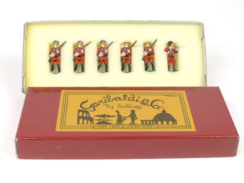 Garibaldi & Co. Toy Soldiers B17A French Indian Wars 60th Privates Advancing