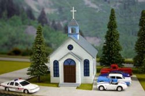 Imex 6103 HO Scale 1st Church
