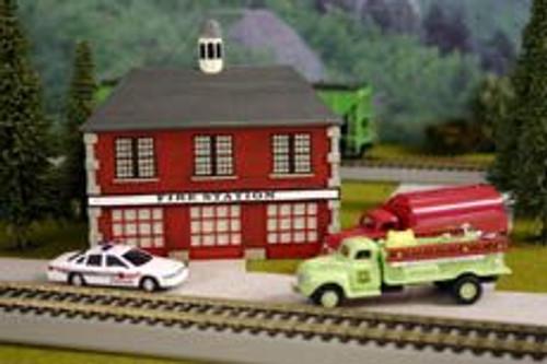 Imex 6105 HO Scale Firehouse