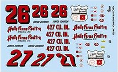Gofer 12005 1/25 Junior Johnson Decal