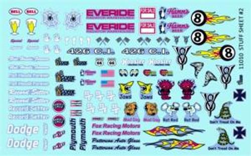 Gofer 11010 1/25 Stuff Sheet #2 Decal