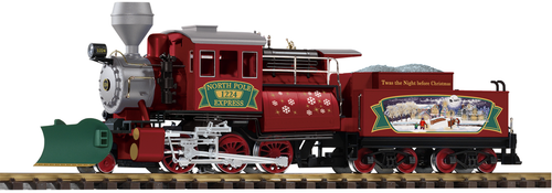 Piko America 38246 Camelback Christmas Steam Locomotive G Scale G Scale