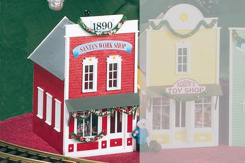Piko America 62200 Santas Work Shop Building Kit G Gauge