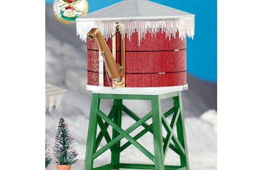 Piko 62702 North Pole Water Tower Built-Up Building G Scale