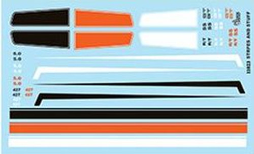 Gofer 11023 1/25 Stripes And Panels Decal