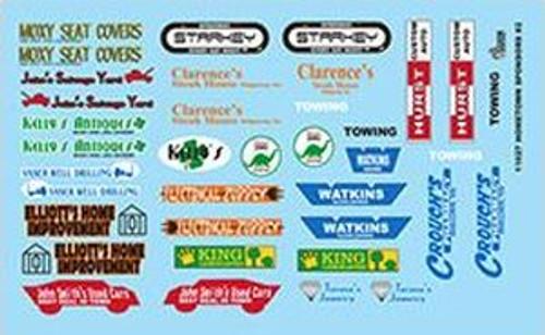 Gofer 11027 1/25 Hometown Sponsors #2 Decal