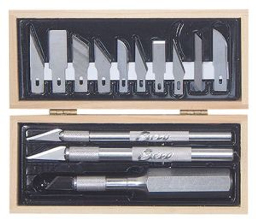 Excel Hobby 44383 Craftsman Tool Set/Wooden Box Carded