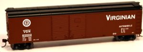 Bowser 60168 HO Scale X32 4-Door Boxcar VGN #62025