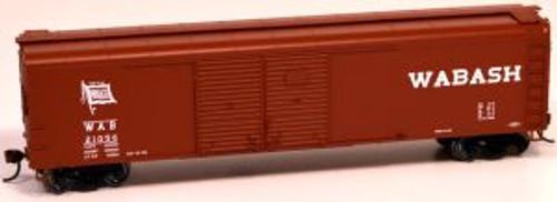 Bowser 60171 HO Scale X32 4-Door Boxcar Wabash #21018