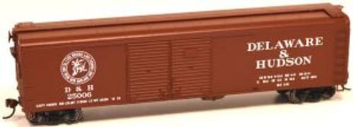 Bowser 60174 HO Scale X32 4-Door Boxcar D&H #25008