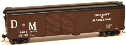 Bowser 60189 HO Scale X32 4-Door Boxcar D&M #3404