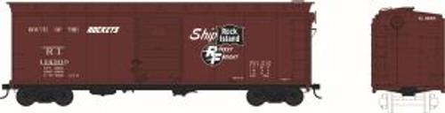 Bowser Trains 41790 HO Scale 40' Boxcar RI #146300