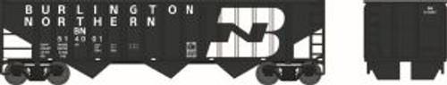 Bowser Trains 41796 HO Scale 70t 3-Bay 14-Panel Hopper BN (ex:GN) #514001