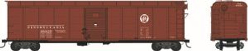 Bowser 41655 HO Scale X32 Boxcar 2 Door PRR Circle Keystone #48820