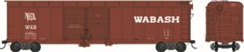 Bowser Trains 41643 HO Scale X32 Boxcar Wabash #21002