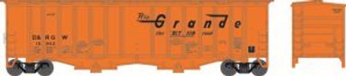 Bowser Trains 37932 N Scale Airslide Hopper D&RGW #15940
