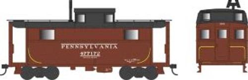 Bowser Trains 37896 N Scale N5 Caboose PRR Early Black Roof #477148
