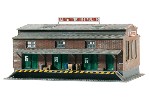 Piko America 60015 Louis Baufeld Forwarder Building Kit N Scale