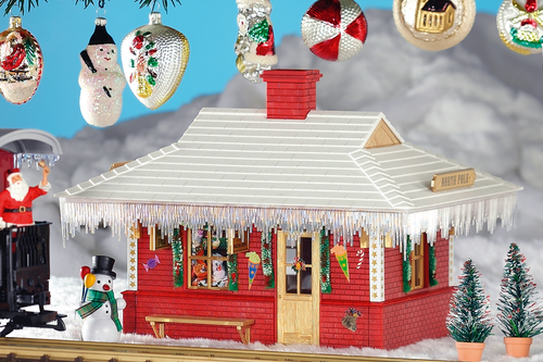 Piko America 62265 North Pole Station Built-up Building G Scale